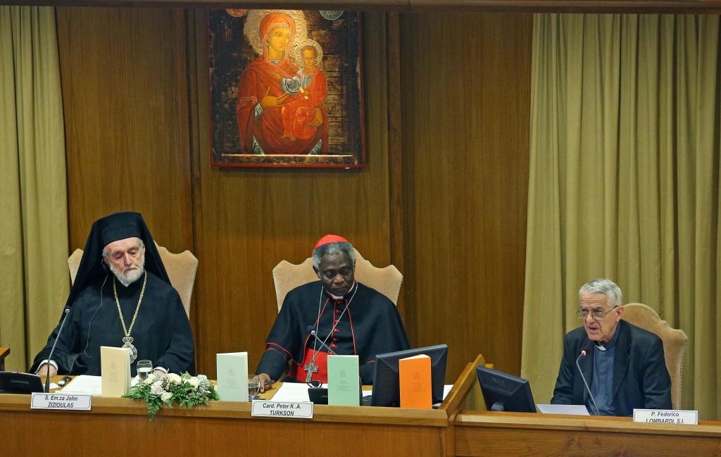 La conferenza stampa di presentazione dell'Enciclica in Vaticano